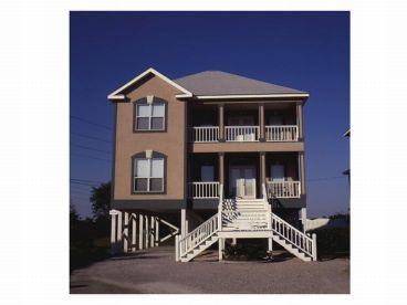 Narrow Lot Beach House, 017H-0036