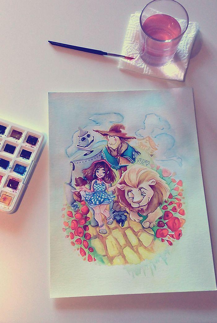 Mago de Oz por Jess - Literatura | Dibujando.net