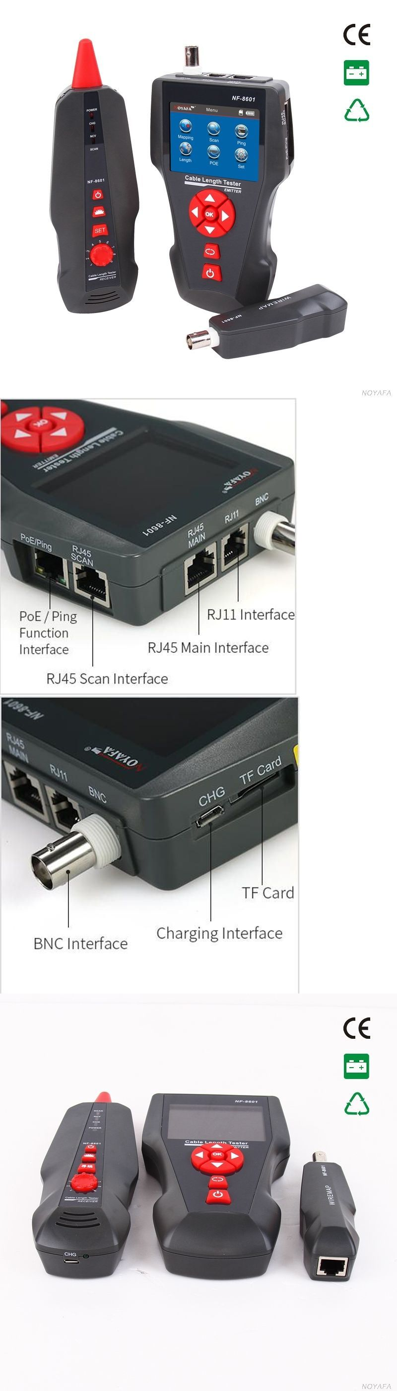 Details about Network Wire Tracker Cable Tester RJ45 RJ11