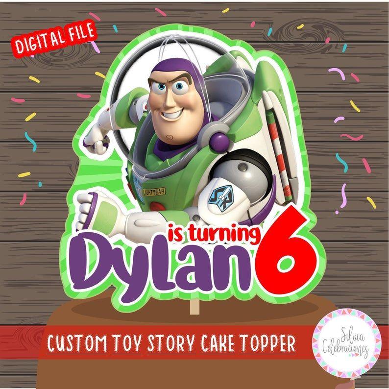 Buzz lightyear cake topper toy story cake topper toy story