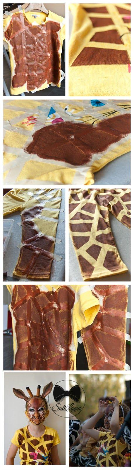 The Giraffe costume I made for my daughter: a little tutorial    La raccolta di Silvia: La mia giraffa preferita