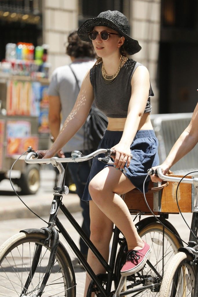 They Are Wearing Hot Town Bicycle Fashion Women Bicycle