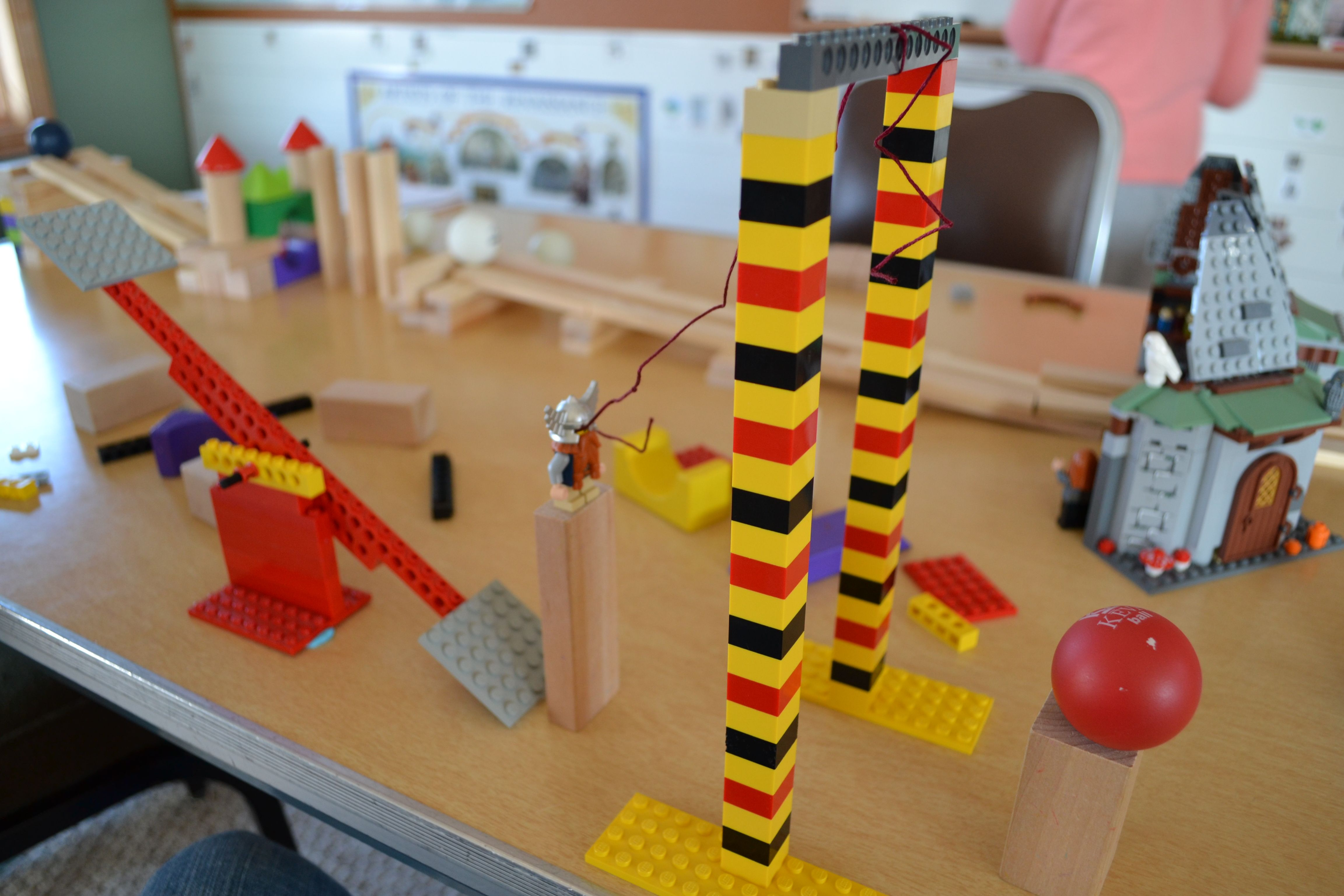 Simple machines project ideas - Rube Goldberg Projects Simple Machines