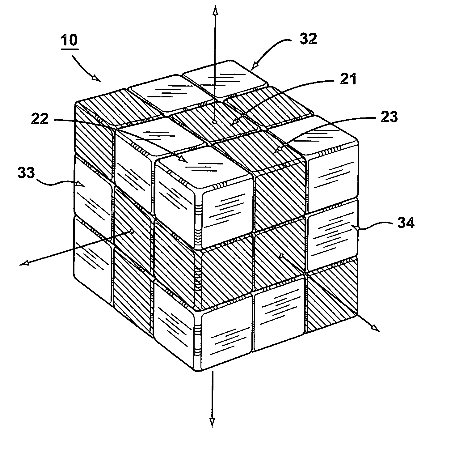 Rubix Cube Patentdrawing Patent Drawing Invention