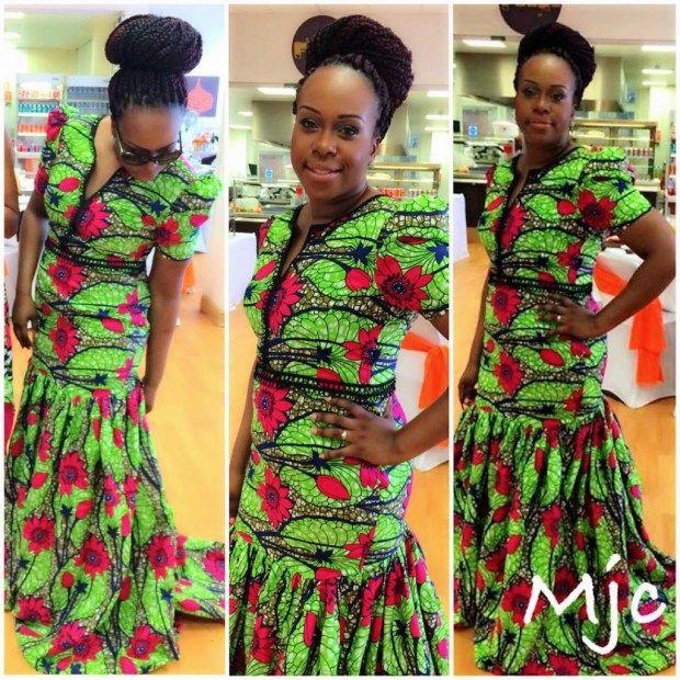 Top Ten Stylish Ankara Dresses for African Woman Dabonke | beautiful ...