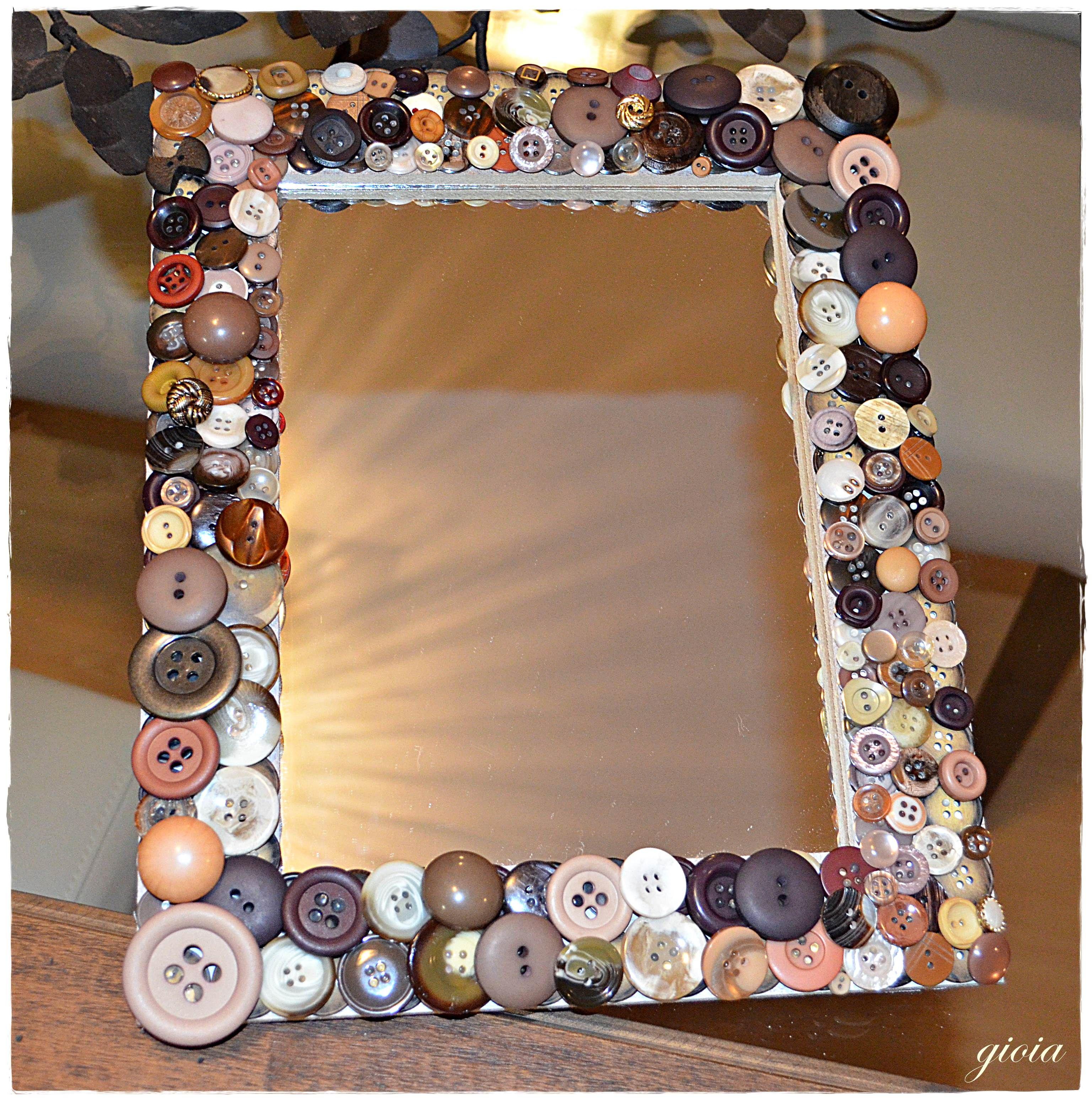 Espelho com botões! (botão, button mirror, bouton miroir)