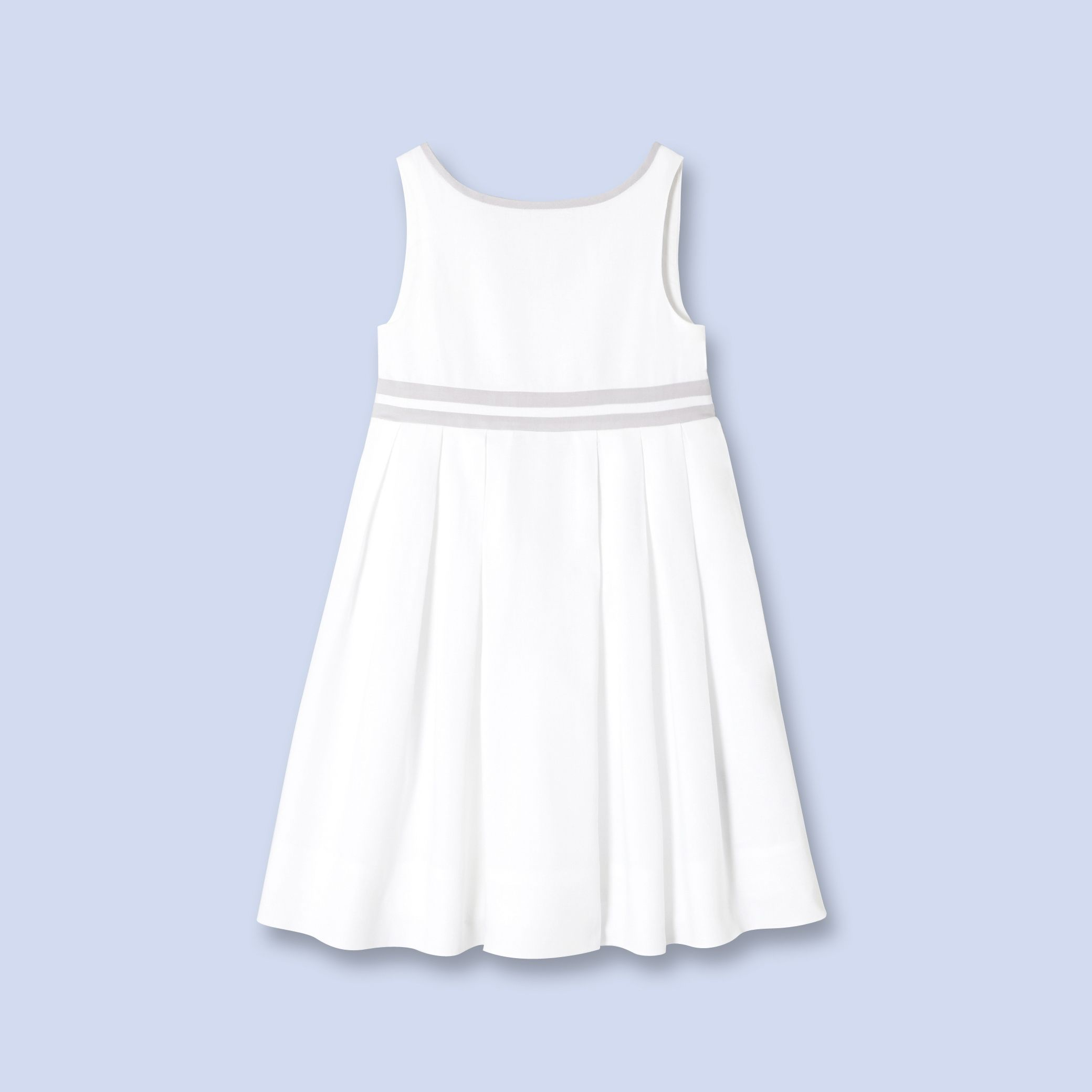 Bow-trimmed dress  for boys and girls, girl