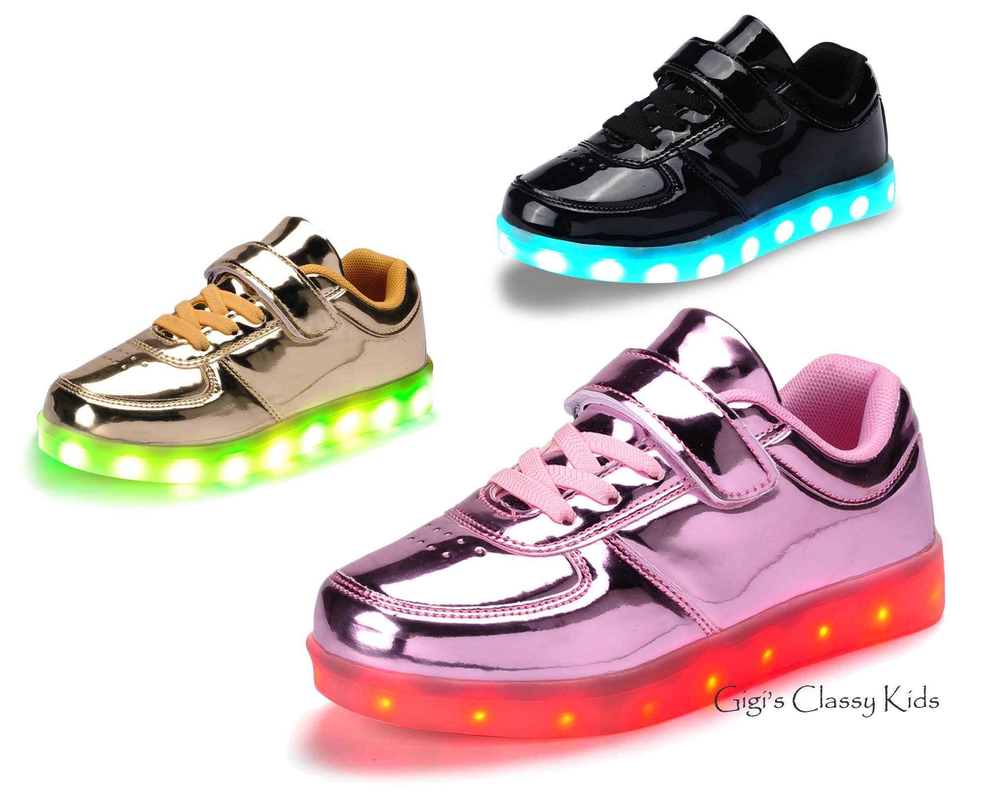 Light Up Shoes For Boys And Girls Trendy Colors Light Up Shoes Boys Shoes Sneakers