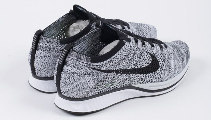 white and black flyknit