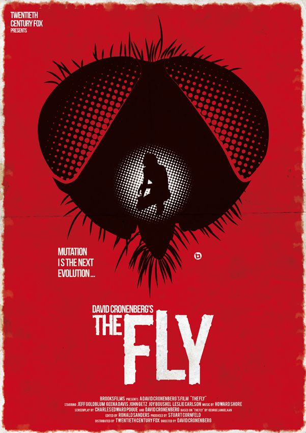 The Fly Halloween S Red Collection On Behance Horror