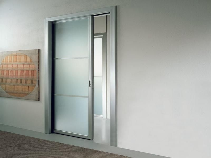 Sail glass cavity pocket doors doors and built ins for Pocket door ideas