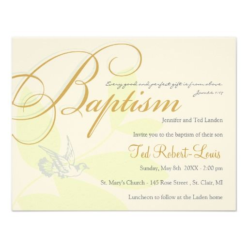 Baptism Invitation Religious Invitations and Gifts Pinterest - sample baptismal invitation for twins