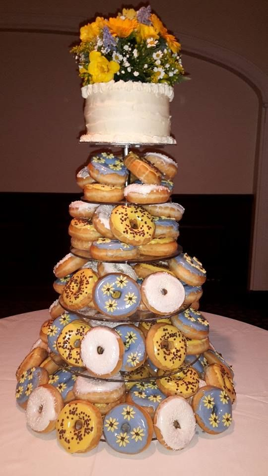 Pin by mary mfifth on frout tree pinterest doughnuts donuts doughnut wedding cake wedding table settings wedding tables donut cakes doughnuts ireland irish table setting wedding junglespirit Gallery
