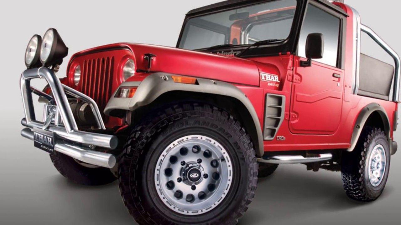 Mahindra Thar Adventure Soft 2018 Top Company Customization Model