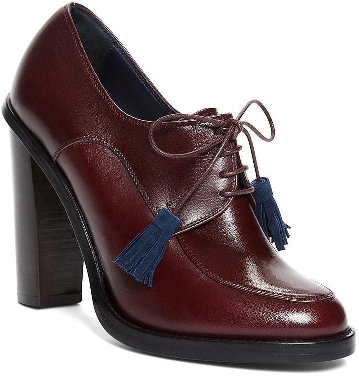 Brooks Brothers Lace Up Oxford Bootie on shopstyle.com