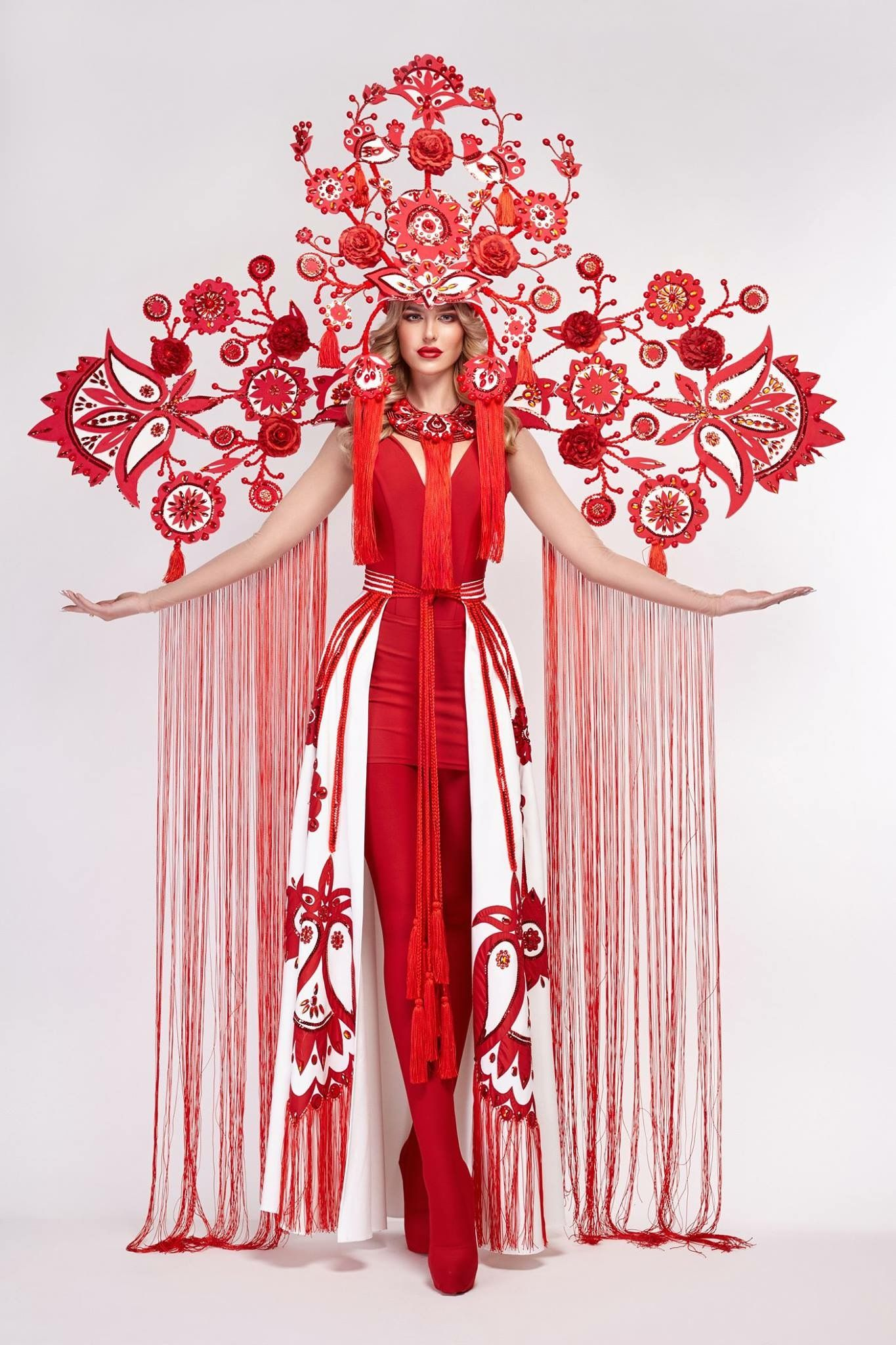 "Miss Ukraine Universe national costume ""The Tree of Life"" 