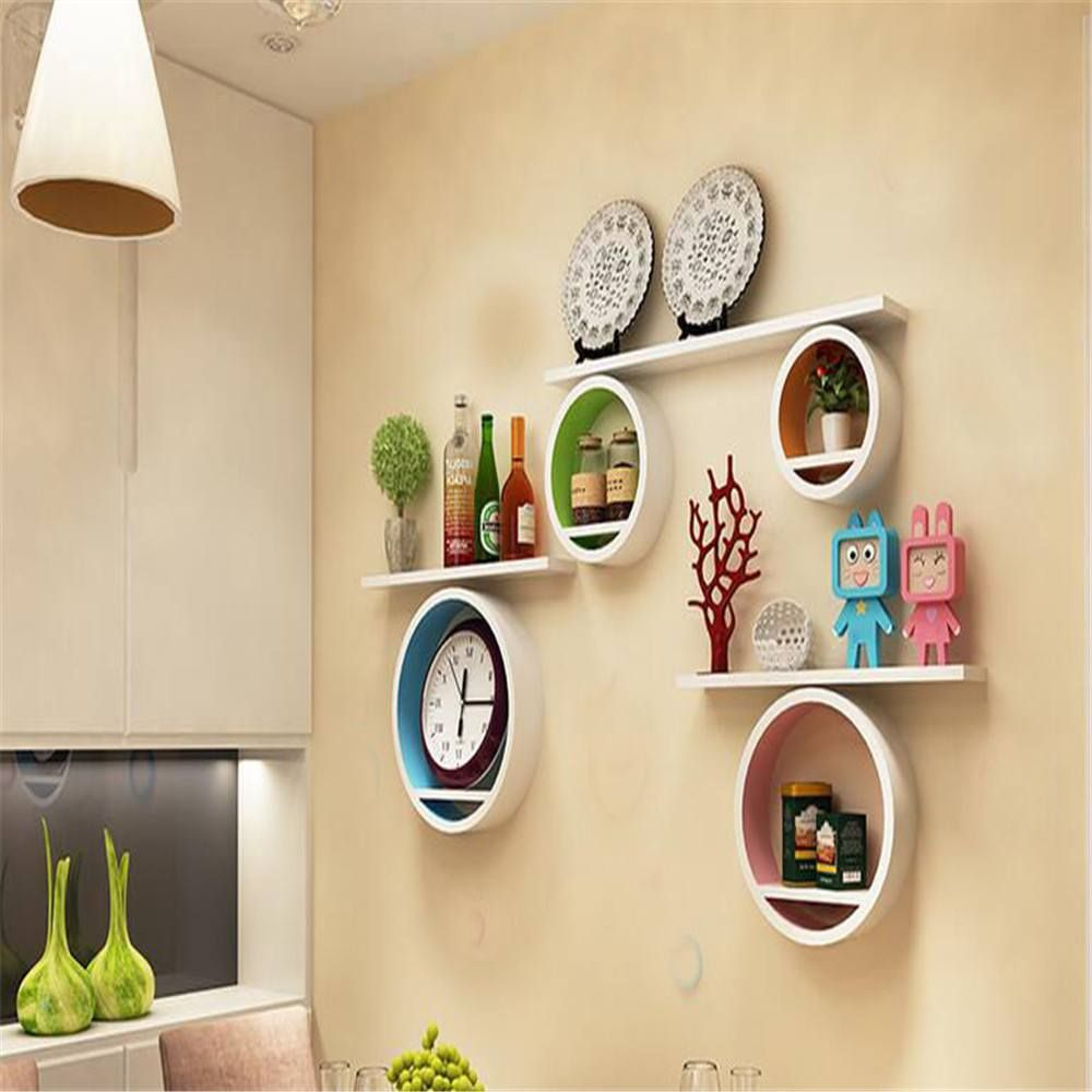 20 of The Most Creative Floating Shelf Designs | Wall mounted ...