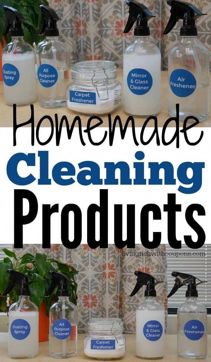 5 Frugal Homemade Cleaners That Are Actually Easy to Make #DIYhomedecor