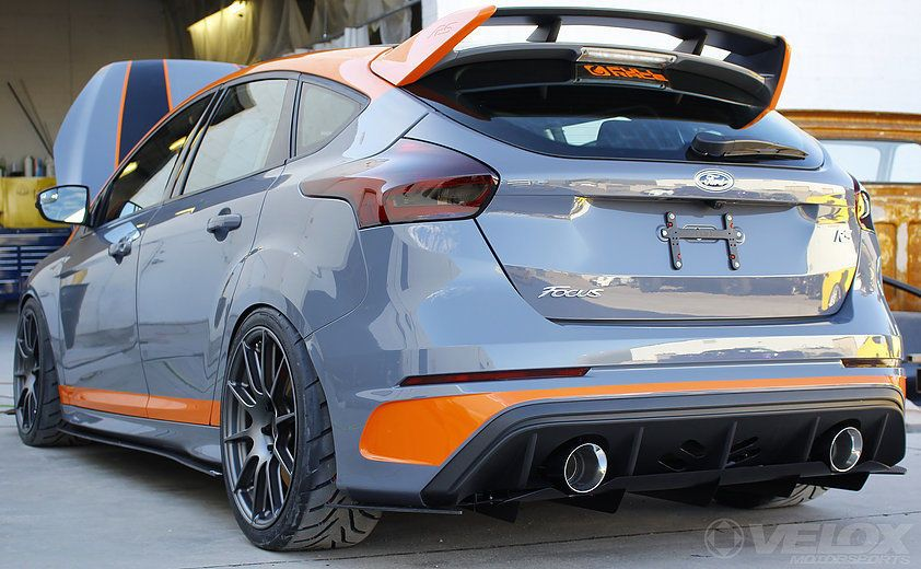 Pre Order Ford Focus Rs Mk3 Non Aggressive Rear Diffuser Velox Motorsports Ebay Ford Focus Rs Ford Focus Ford Focus St