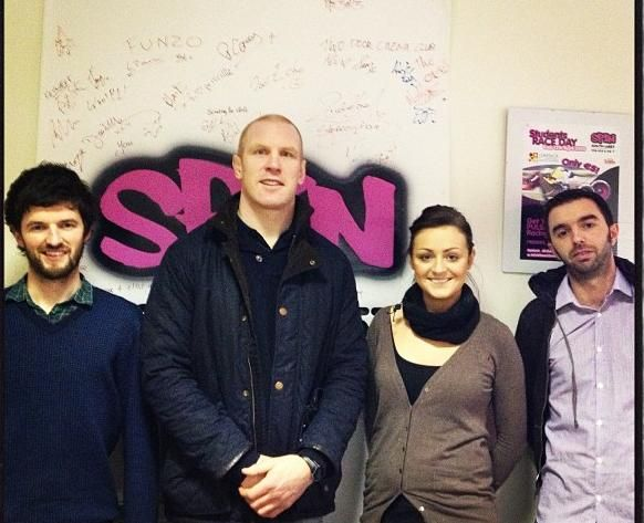 Look who popped into the SPIN South West office!