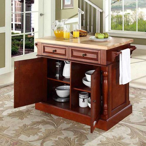 Found It At Wayfair  Remus Kitchen Island With Butcher Block Top Gorgeous Butcher Block Kitchen Island Decorating Inspiration