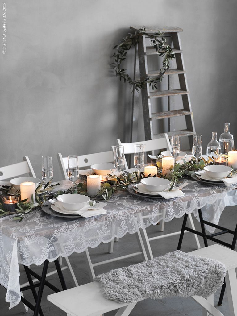 Seda y nacar сервировка стола pinterest table settings ikea