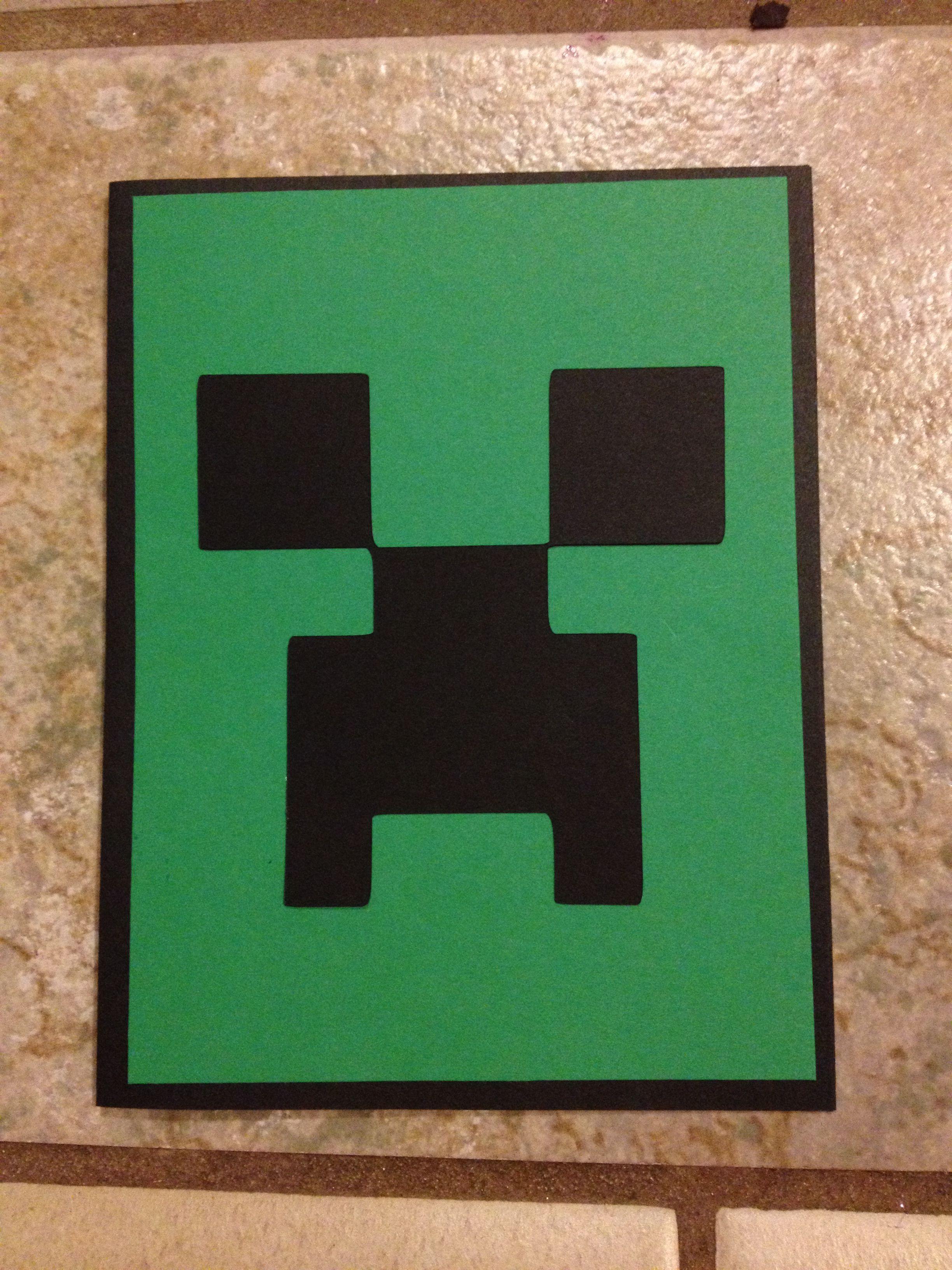 minecraft birthday invitations   Minecraft Invitations Vs Michael ...