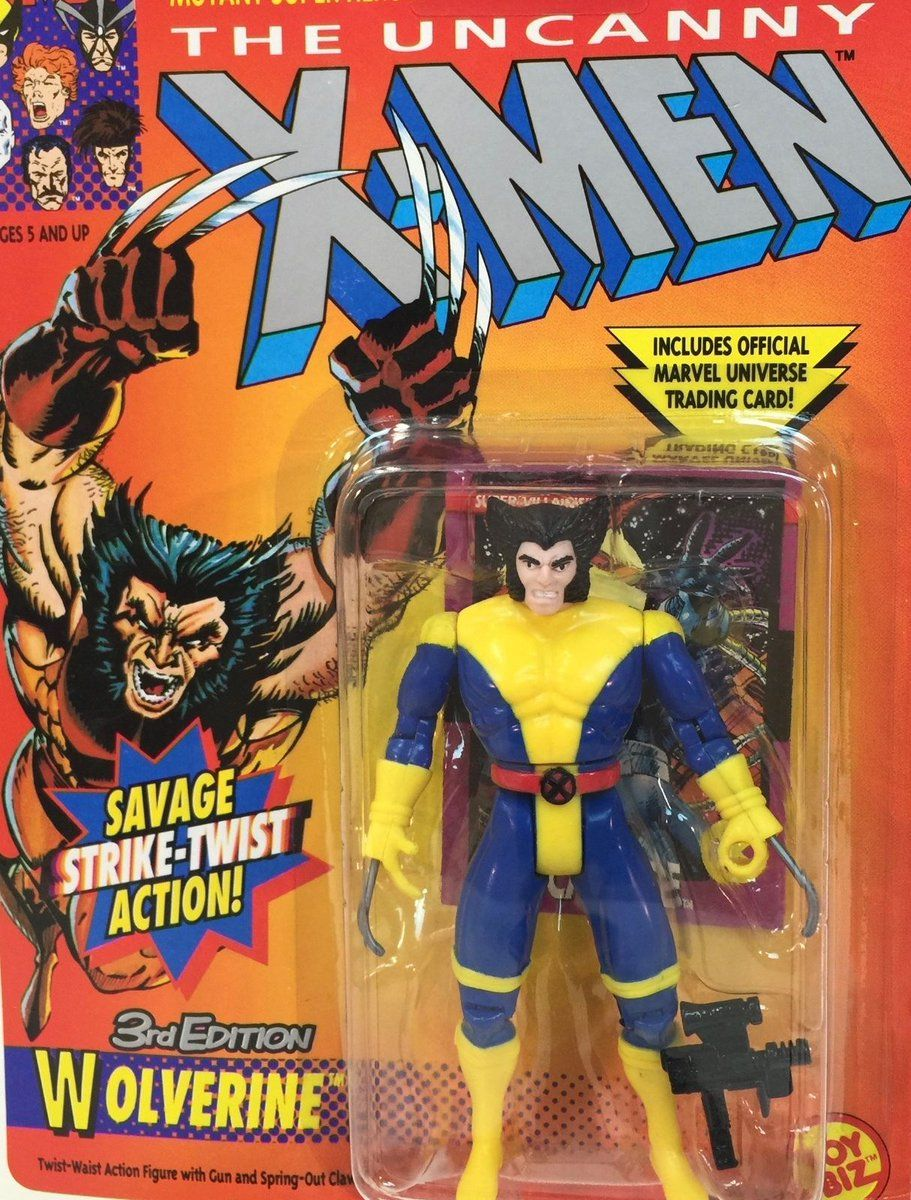 #Popular - Vintage 1994 Marvel Comics3rd EDITION WOLVERINEUncanny X-Men Figure ToyBiz MOC  http://dlvr.it/N3GXMq - http://Ebaypic.twitter.com/4yxn2PA3EP
