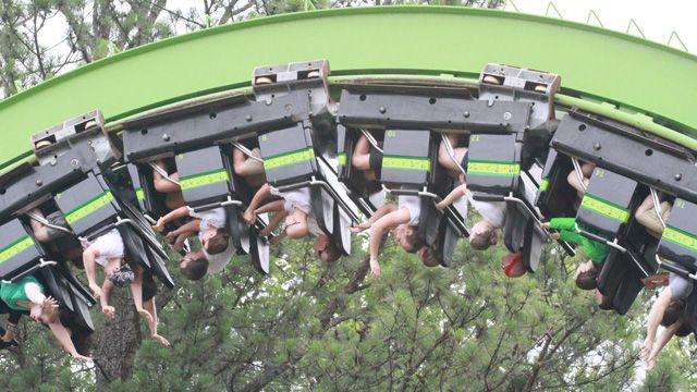Could you ride the Mind Bender at Six Flags Over Georgia for nine straight hours? That was the mission 32 riders set out on Friday morning, each participating in the Coasterthon at Six Flags.