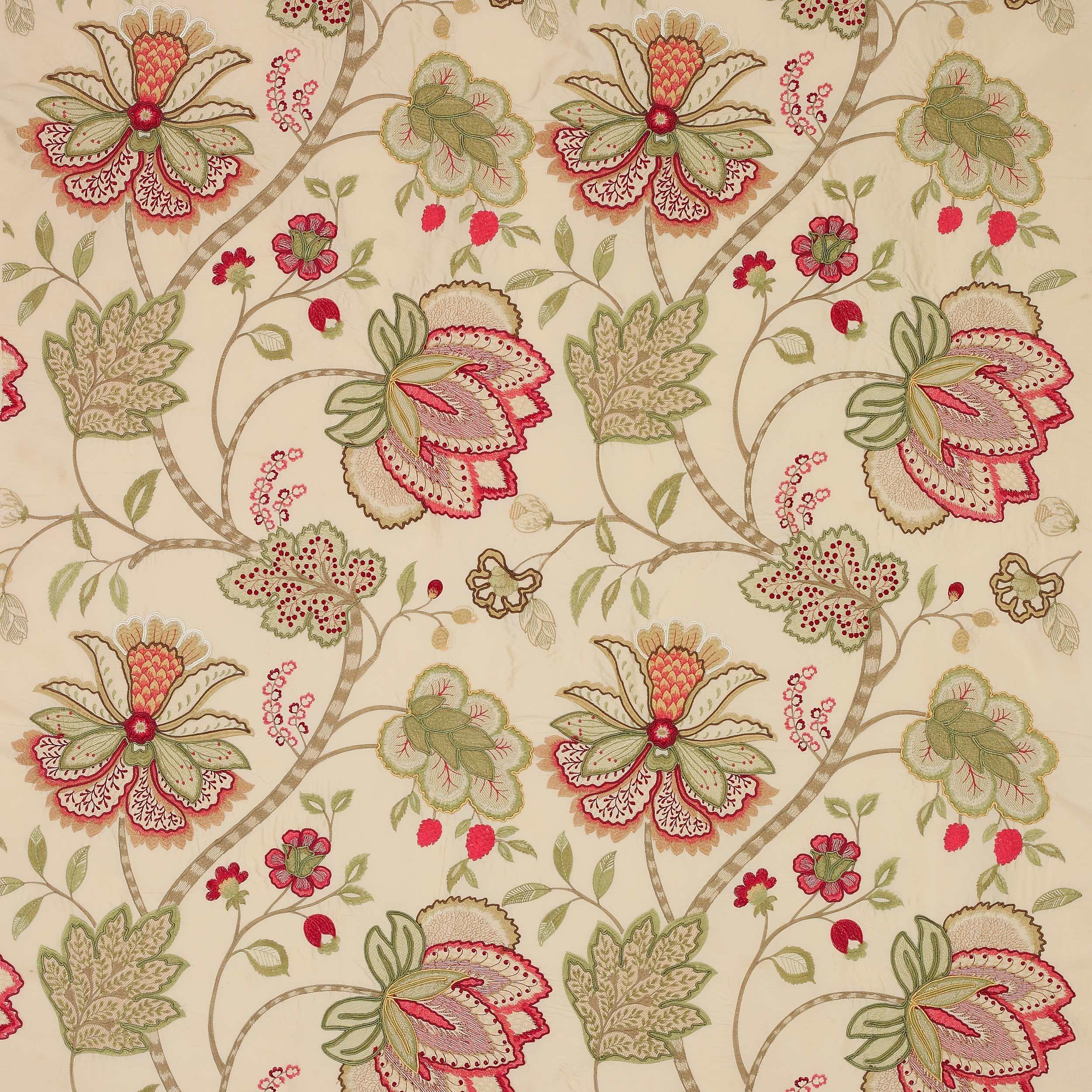 Baptista Silk Fabric - Colefax and Fowler | Vorhänge Wohnzimmer ...