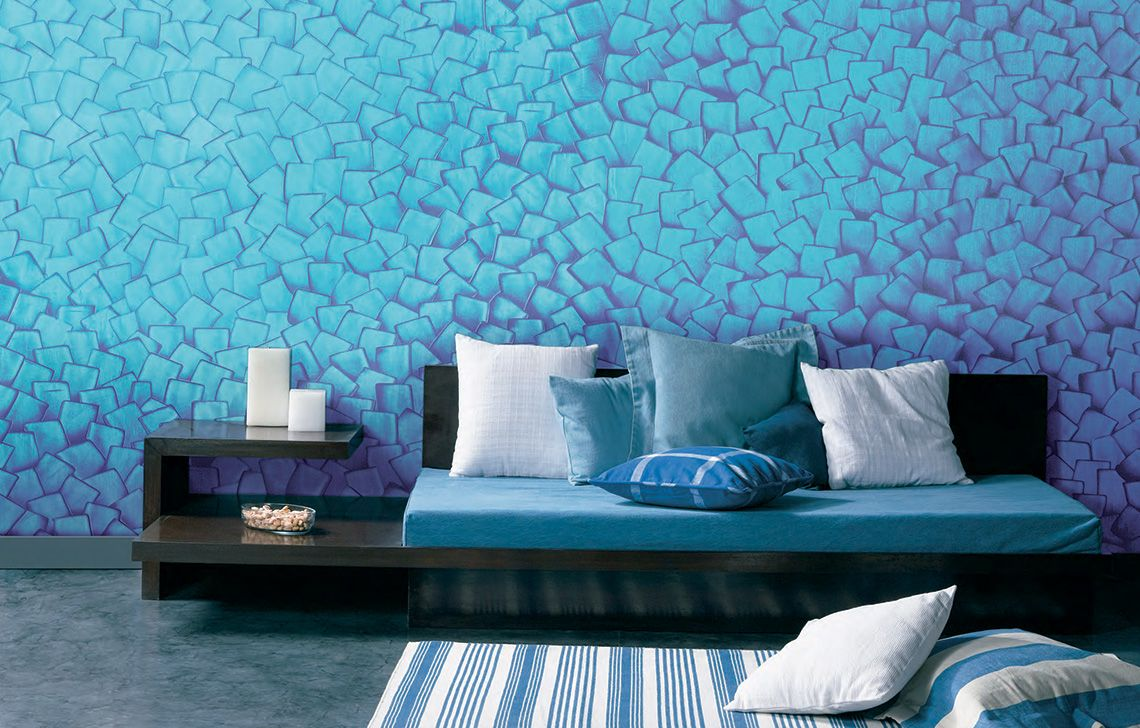 Spatula Wall Texture Design Wall Decor Living Room Living Room Wall