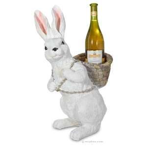 cute bunny hopping down the bunny trail wine wine gifts happy easter. Black Bedroom Furniture Sets. Home Design Ideas