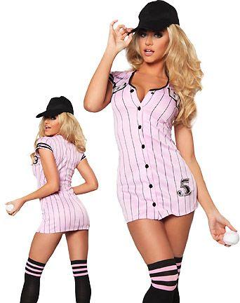 The Babe Baseball Jersey Costume  sc 1 st  Pinterest & Sexy Baseball Jersey Uniforms | Costumes? | Pinterest | Baseball ...