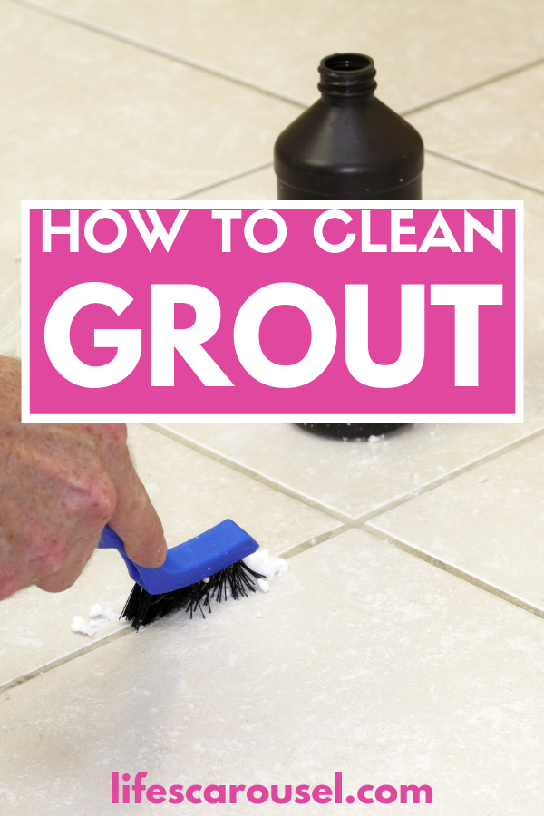 How To Clean Grout The Best Homemade Grout Cleaner Grout Cleaner Homemade Grout Cleaner Cleaning