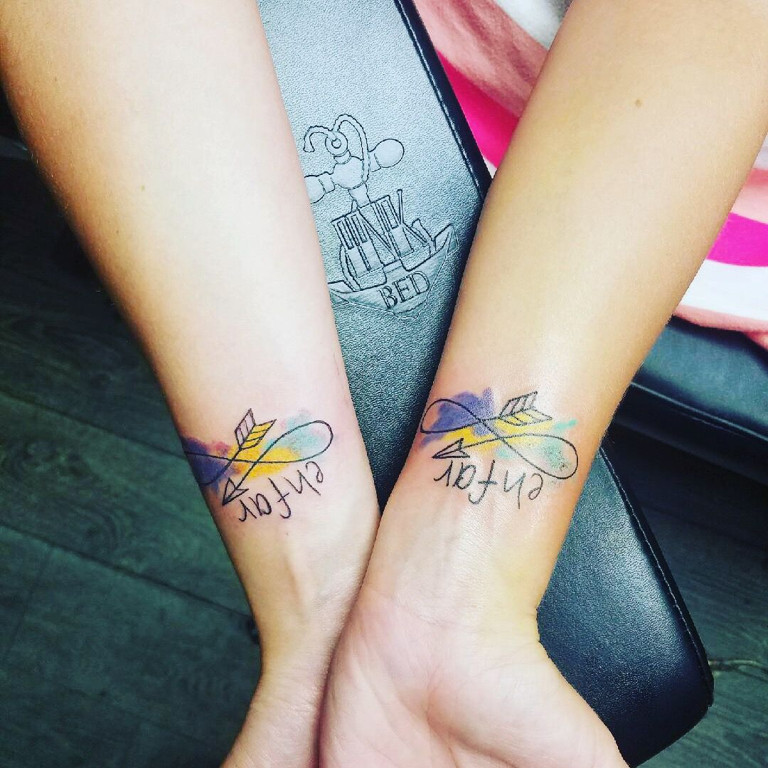 Best friend tattoo with images friend tattoos best