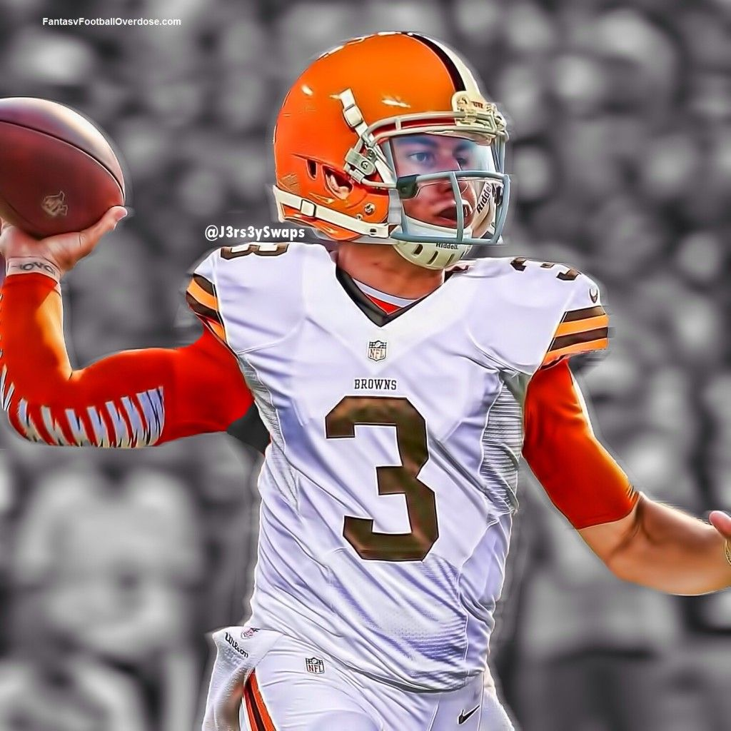 ... NFL Edits Johnny Manziel in a Cleveland Browns Jersey - Fantasy Football  Overdose Fantasy ... bbc211074