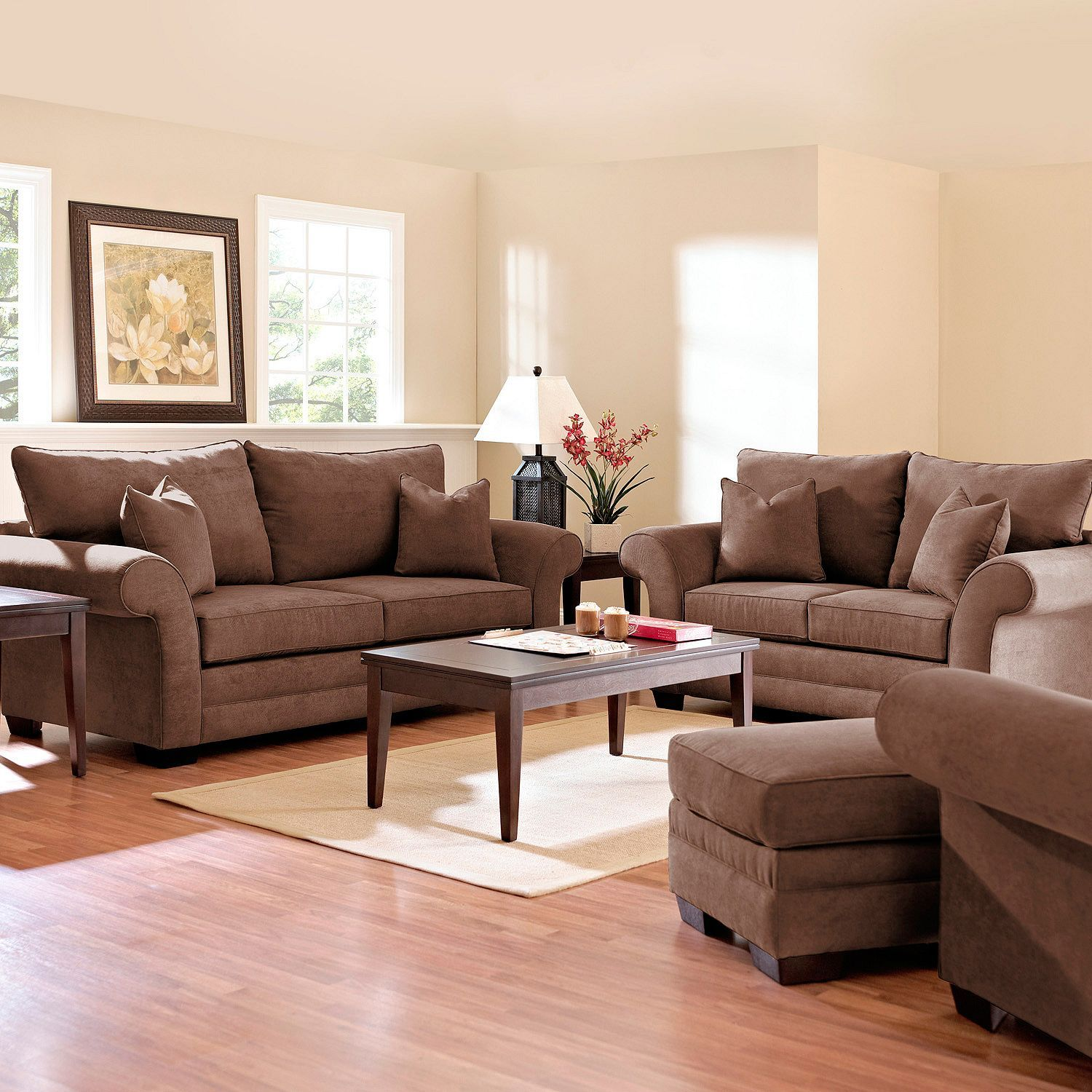Willow Sofa Set Java 4 Pc Moving Out Sofa