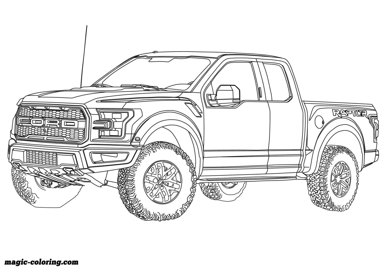 Transportation Coloring Pages Truck Coloring Pages Cars