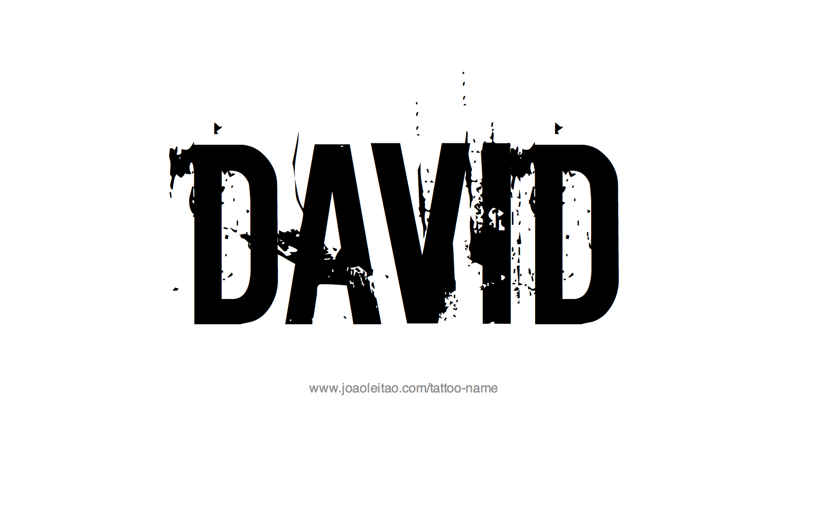 c0aef5629d141 David Name Tattoo Designs | FELIX | Name tattoos, Name tattoo ...