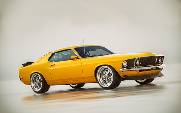1969 Ford Mustang Boss 302 On Behance Con Imagenes Cuatro