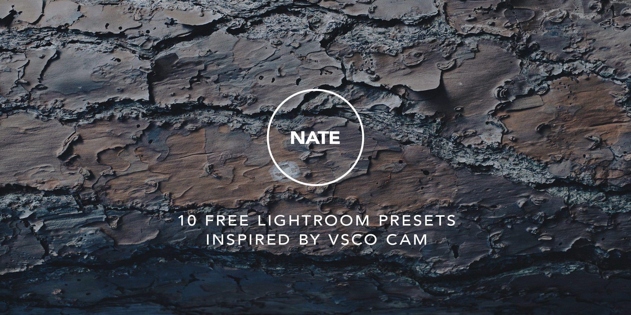 Vscocam lightroom presets free download