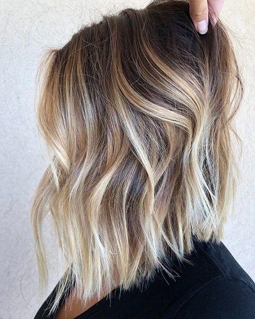 16+ Ombre effect short hair trends