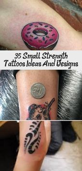 Photo of 35+ Small Strength Tattoos Ideas And Designs – The Life Ideas #tattoodesignsMe…