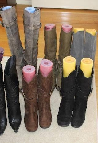 well isn\u0027t that smart pool noodles in boots to keep their shape
