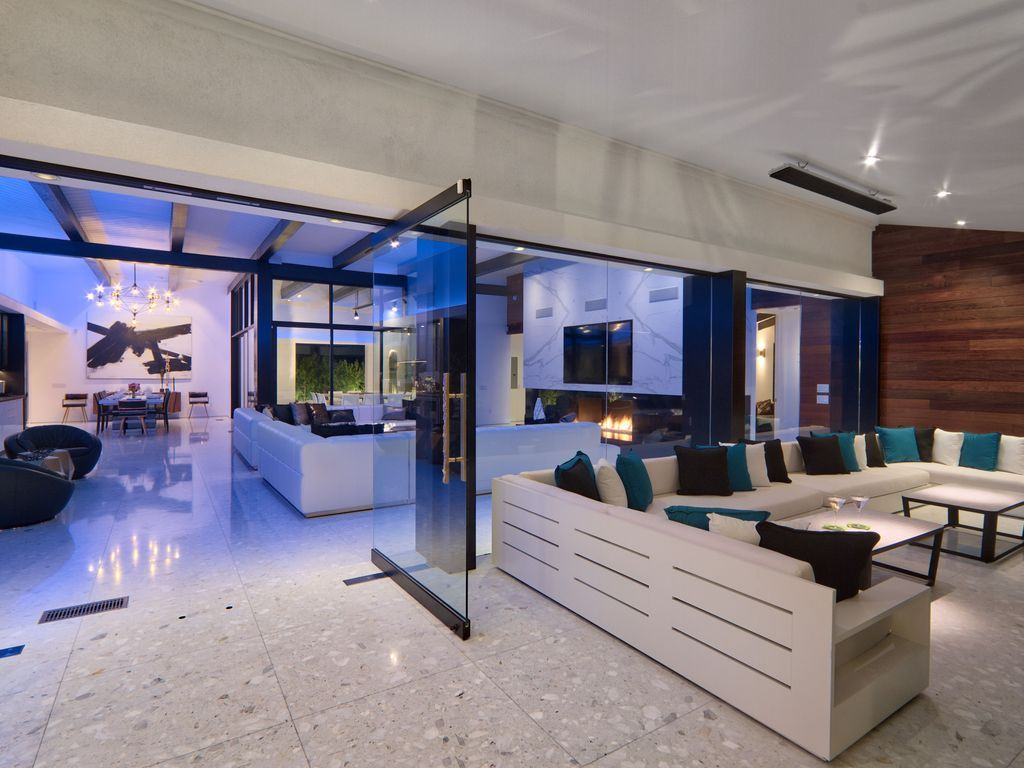 Modern Luxury Estate 6bd 9ba Gourmet Kitchen Tennis Court Pool