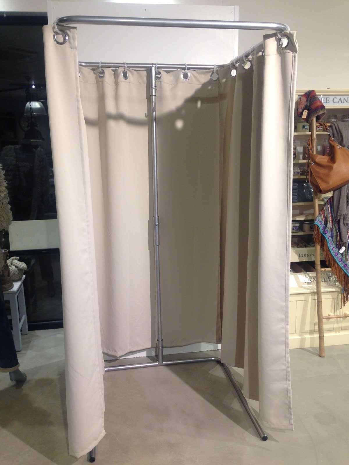 Fitting Room Designs For Retail: Diy Portable Changing Room - Google Search