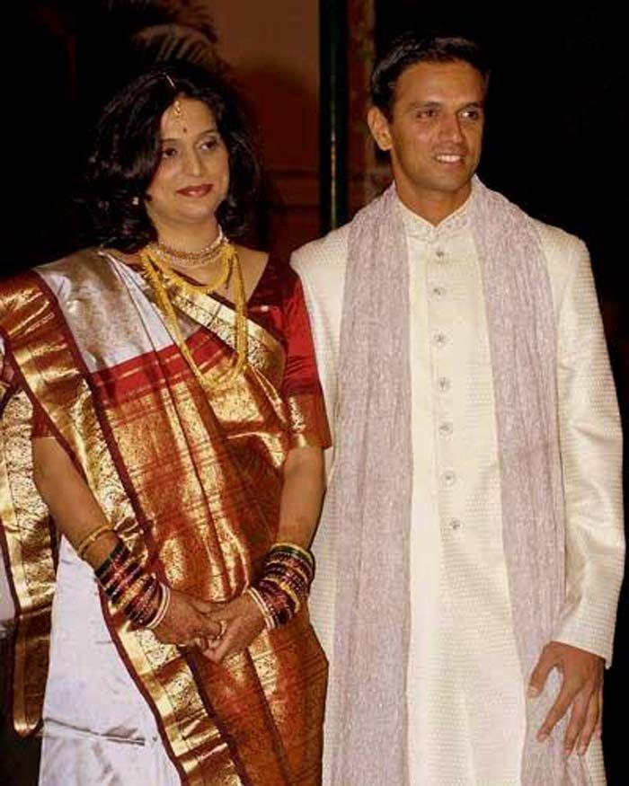 Honeymoon Places Bangladesh: Rahul Dravid With His Wife