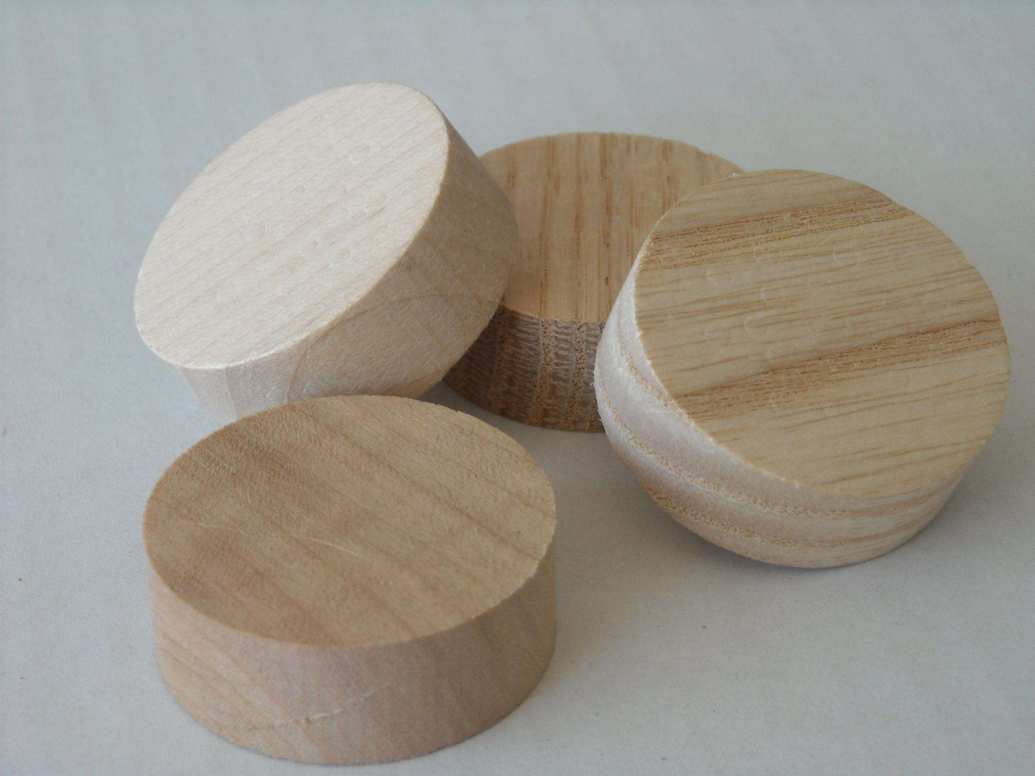 Wood Plugs & Buttons - Wooden Plugs & Buttons - Cincinnati Dowel (to ...