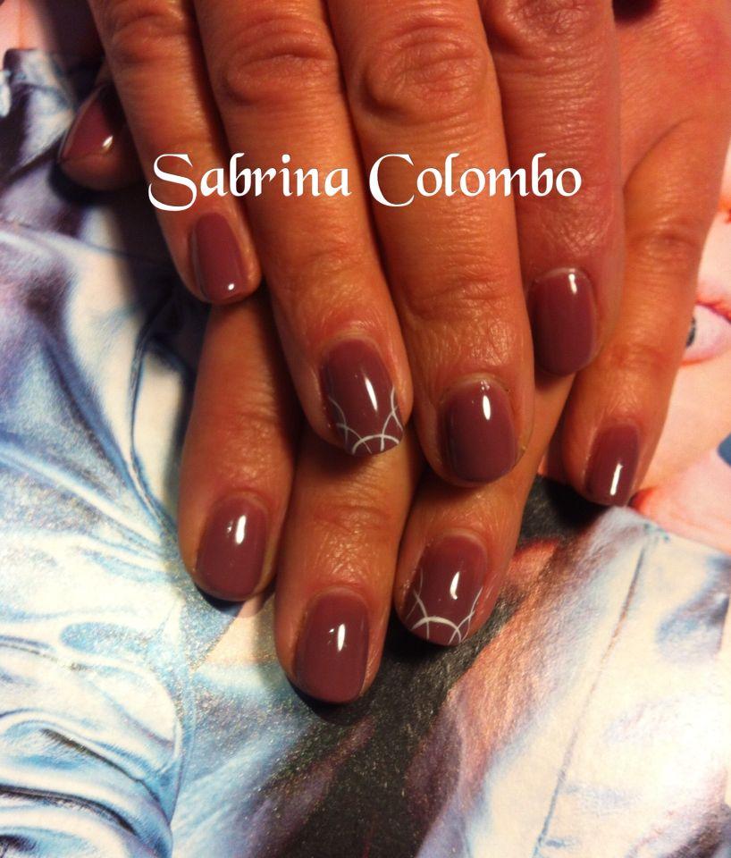 Préférence Smalto semipermanente monocolore rose' naturale con mail art  UI39