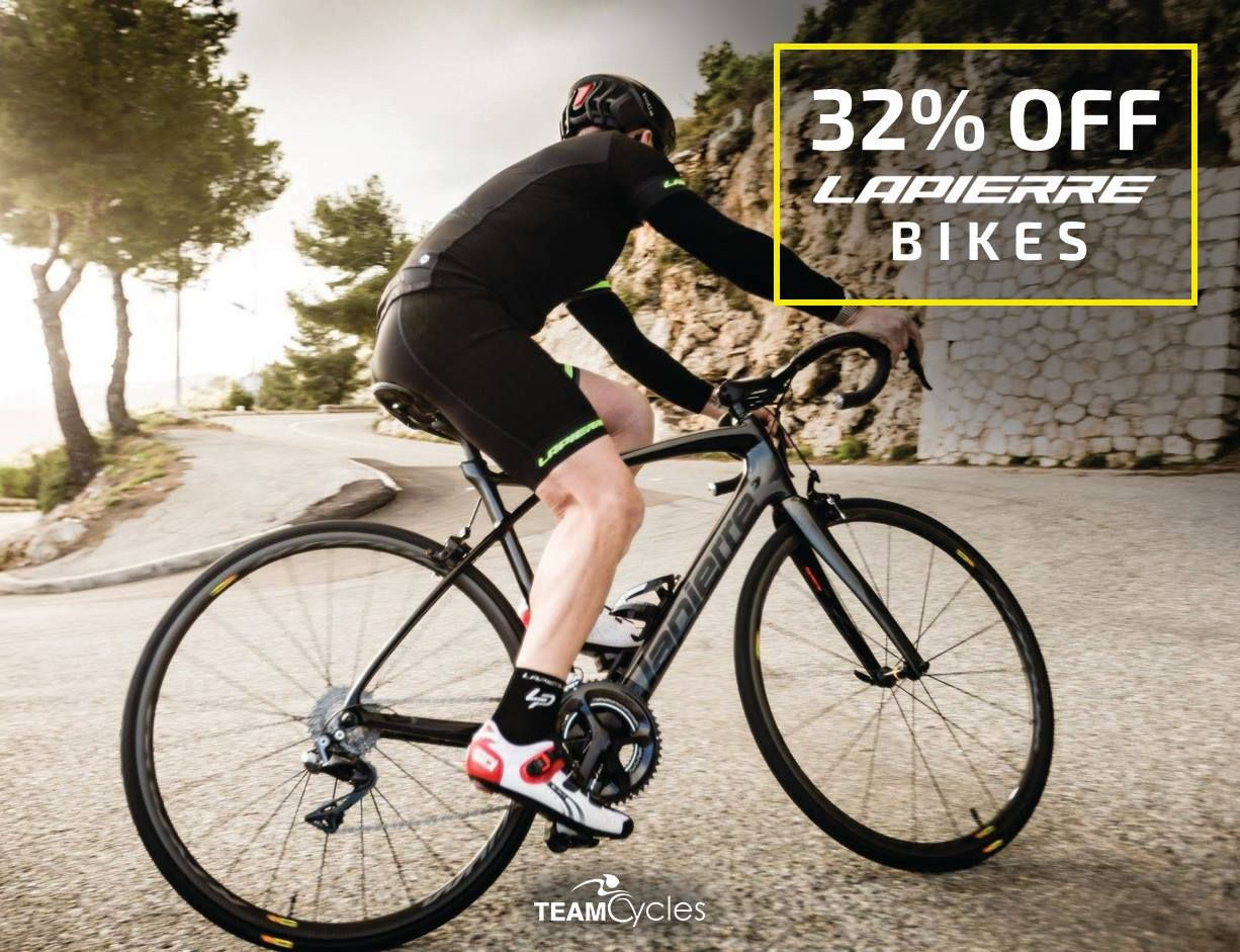 We Have A Mammoth 32 Discount On All Of Our Lapierre Bikes With